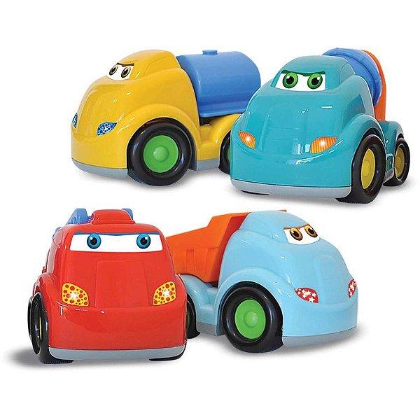 Baby Work - Caminhões - 4 peças - Roma