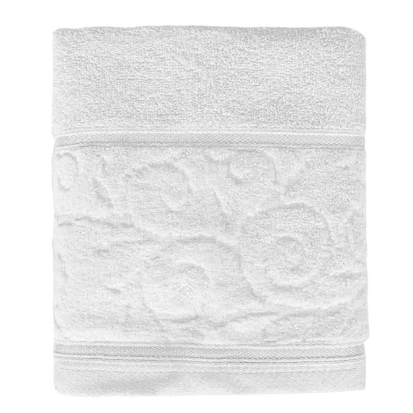 Toalha de Rosto Unique Anette - Branco 0001 - Santista