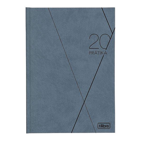 Agenda Diária Prátika 2020 - Cinza - Tilibra
