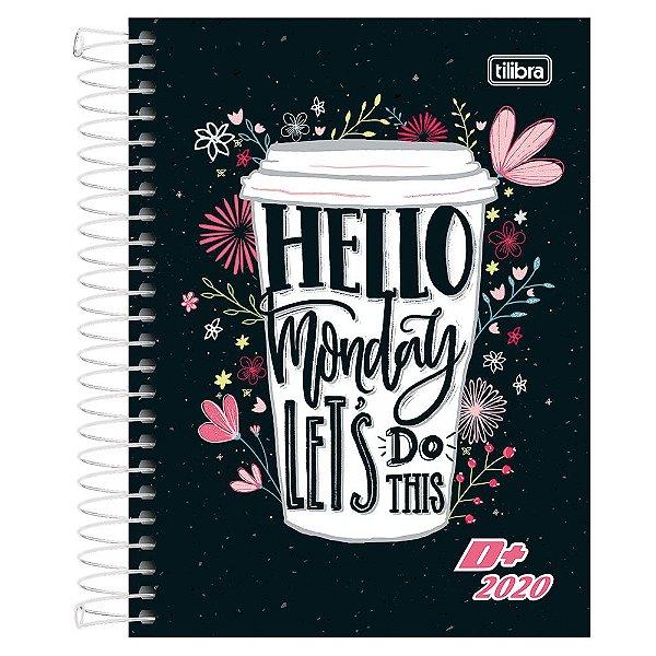 Agenda Diária D+ 2020 - Hello Monday - Tilibra