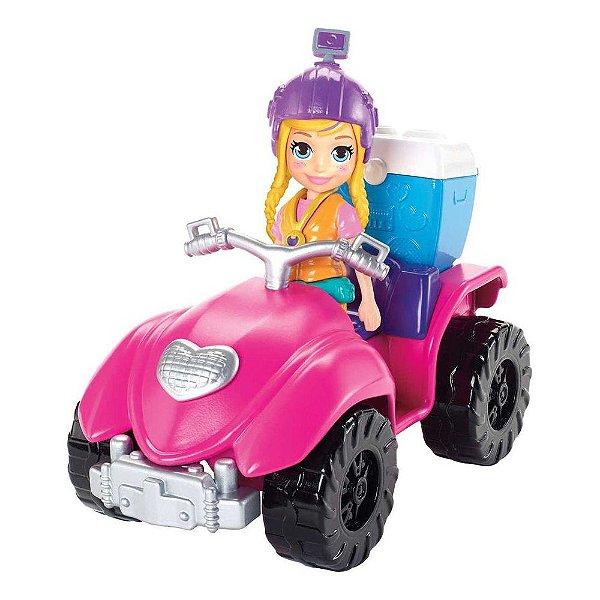Polly Pocket - Quadriciclo Fabuloso - Mattel