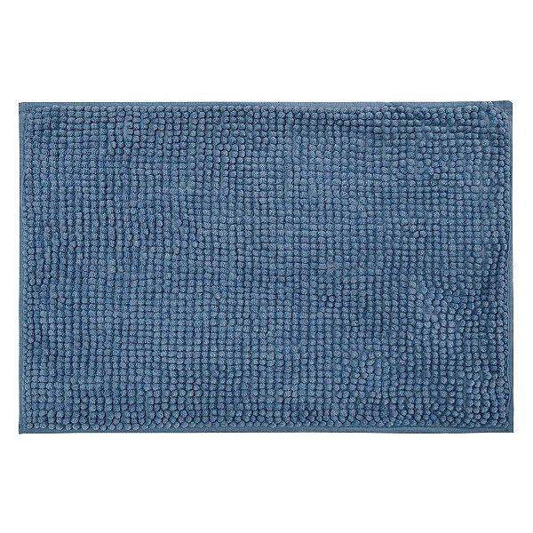 Tapete de Banheiro Popcorn  Remix - Azul - Camesa