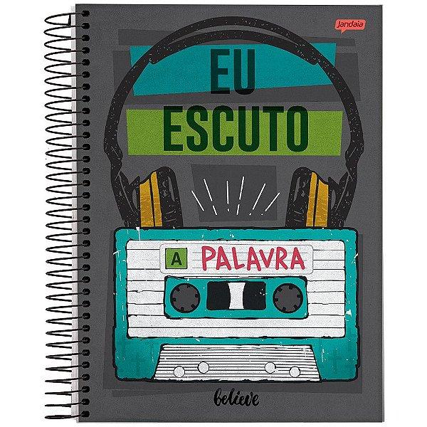 Caderno Believe - Eu Escuto a Palavra - 1 Matéria - Jandaia