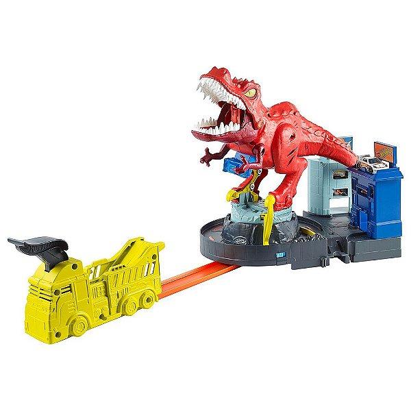 Hot Wheels T-Rex Demolidor com Som - Mattel