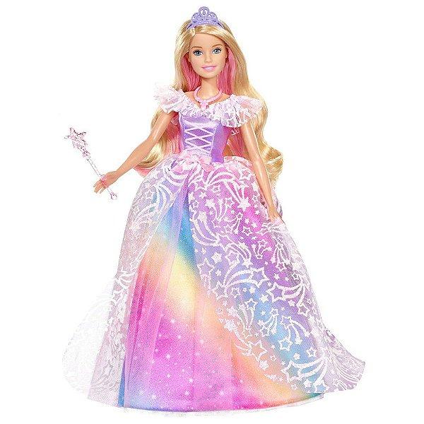 Boneca Barbie Dreamtopia Vestido Brilhante - Mattel