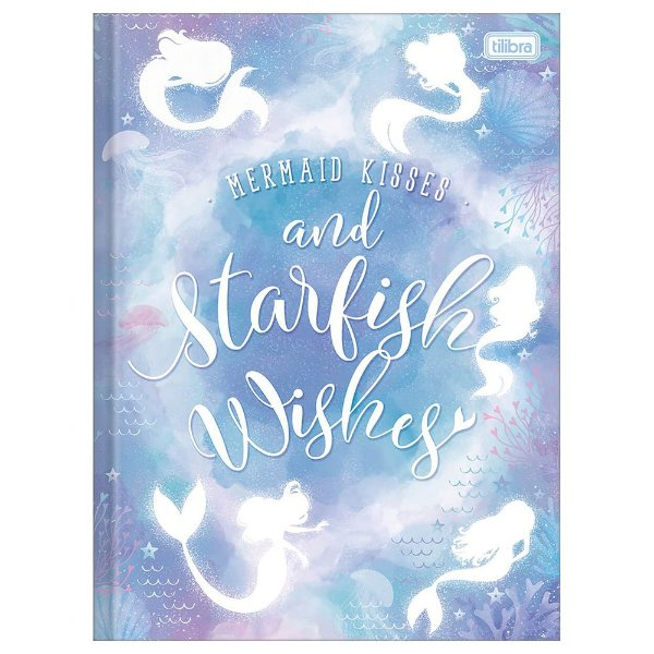 Caderno Brochura Wonder - Starfish Wishes - 80 Folhas - Tilibra