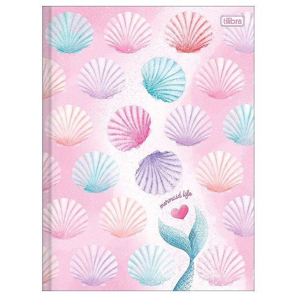 Caderno Brochura Wonder - Conchas Coloridas - 80 Folhas - Tilibra