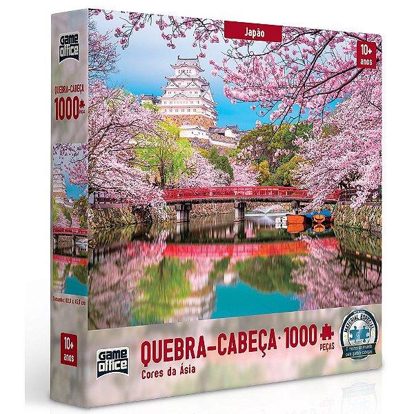 Quebra-Cabeça Cores da Ásia - Japão - 1000 peças - Toyster
