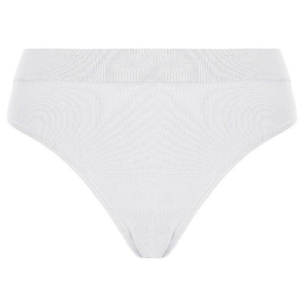 Calcinha Básica sem Costura Loba Clássica - Branco - Lupo