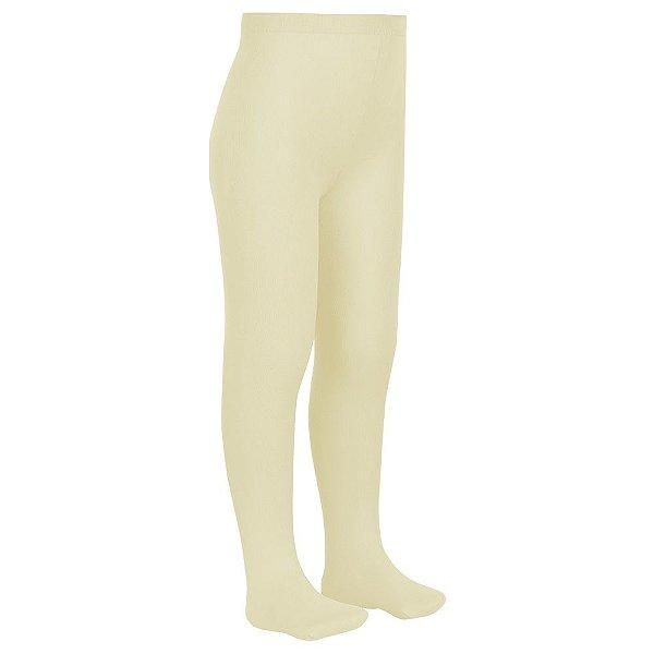 Meia-Calça Cotton Lobinha - Amarelo Claro 6020 - Lupo