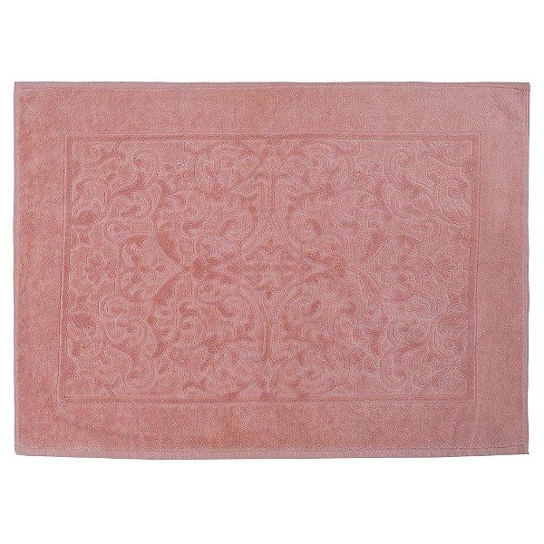 Toalha para Piso Felpudo Jacquard Confort - Rose 11033 - Döhler