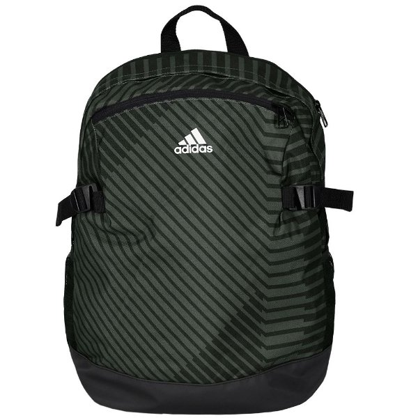 Mochila BP Power - Cinza com Listras Pretas - Adidas