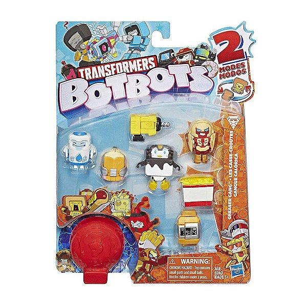 Transformers Botbots Fase 1 - Kit com 8 Personagens - Hasbro