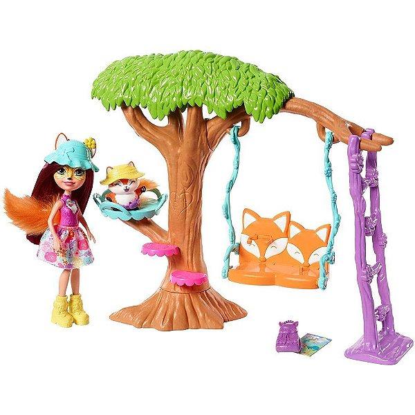Enchantimals - Aventura no Parquinho - Felicity Fox e Flick - Mattel