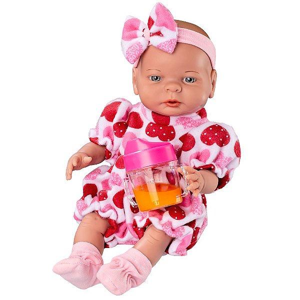 Boneca Primeiras Comidinhas - Roma Babies