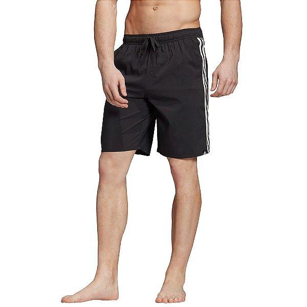 Short de Natação 3-Stripes - Preto - Adidas