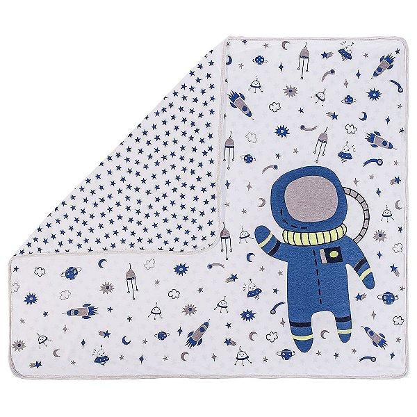 Manta Para Bebê em Malha - Astronauta - Colibri