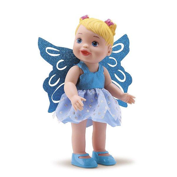 Boneca My Little Collection Fadas - Azul - Diver Toys