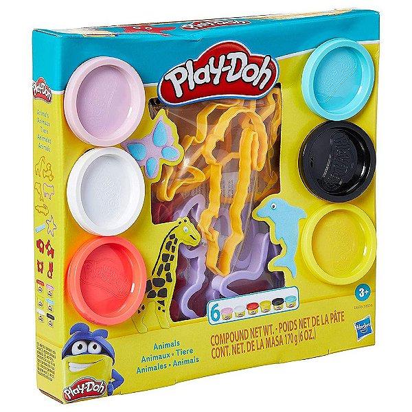 Play-Doh - Conjunto de Massinhas Animais - Hasbro