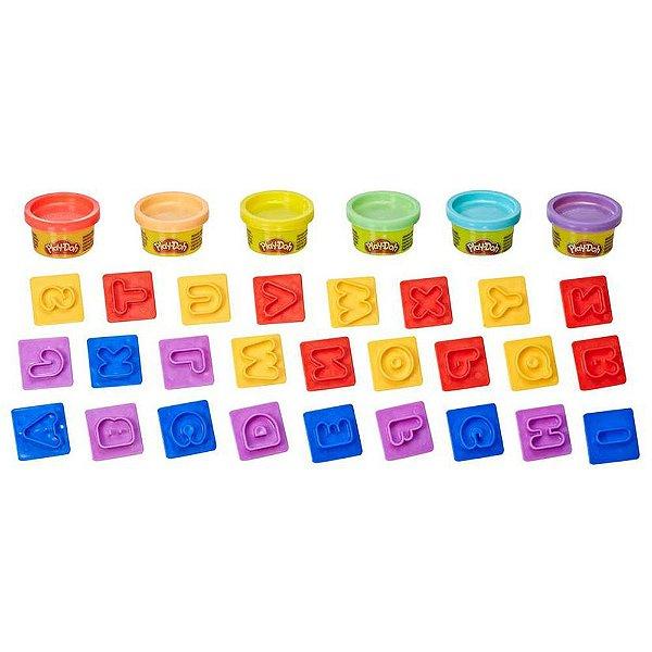 Play-Doh - Conjunto de Massinhas Letras - Hasbro