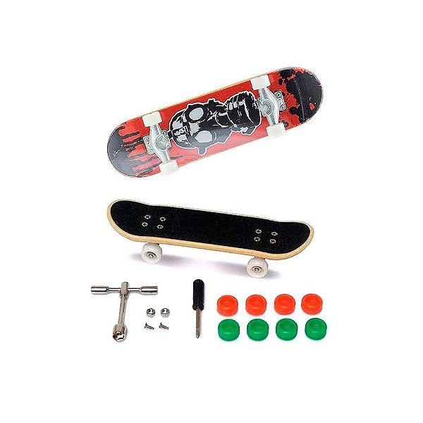 Skate de Dedo - Extremo e Radical - Vermelho - DTC