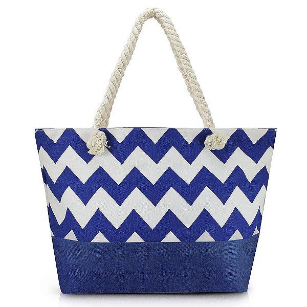 Bolsa de Praia - Azul - Jacki Design