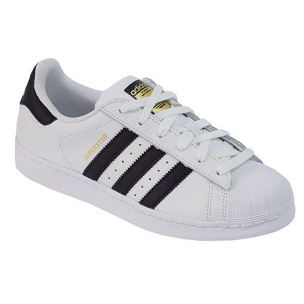 Tênis Superstar - Branco e Preto - Adidas