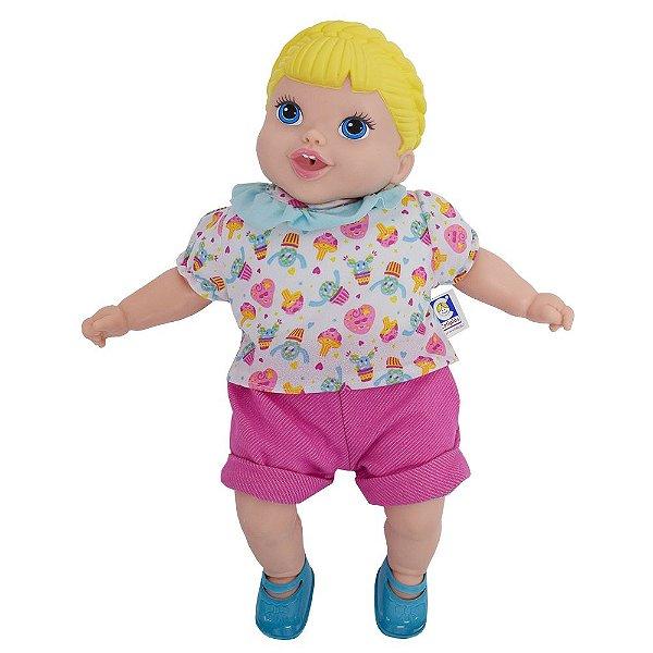 Boneca Balãozinho do Bebê - Cotiplás