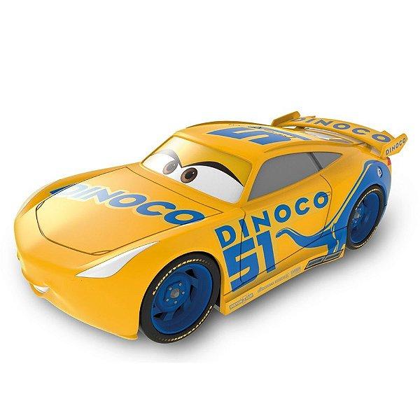 Carros de Fricção - Dinoco 51 Amarelo - Toyng