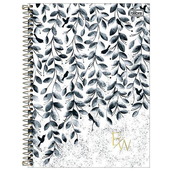 Caderno B&W - Folhas - 160 Folhas - Tilibra