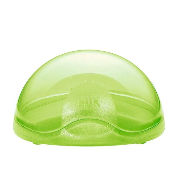 Caixa Protetora Para Chupeta - Verde - Nuk