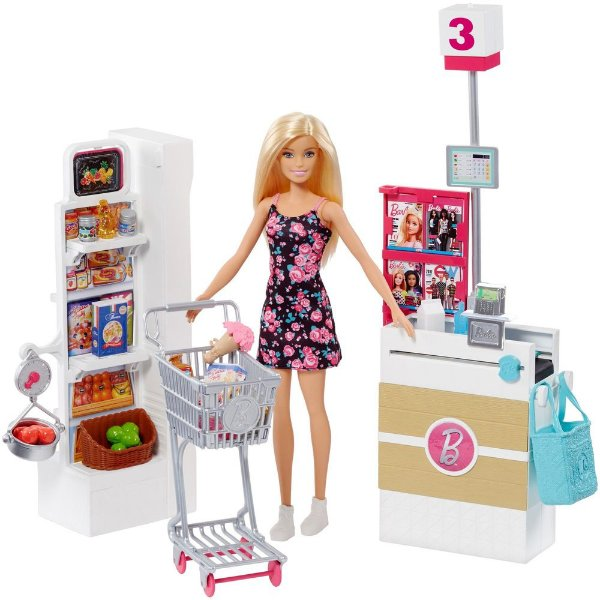 Supermercado de Luxo Barbie - Mattel