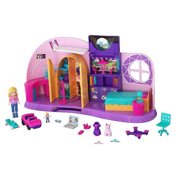 Quarto Da Polly Pocket - Mattel
