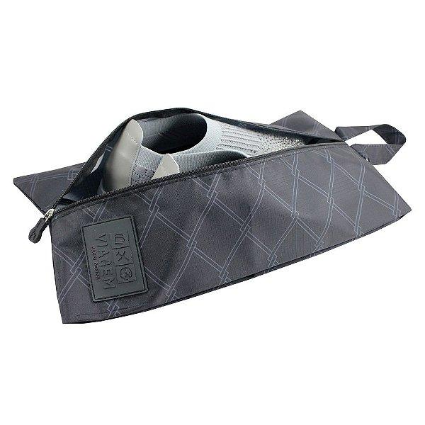 Bolsa Para Sapato Detalhada - Preto - Jacki Design