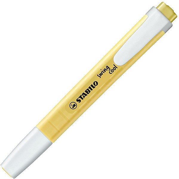Marca Texto Swing Cool Pastel  Amarelo - Stabilo