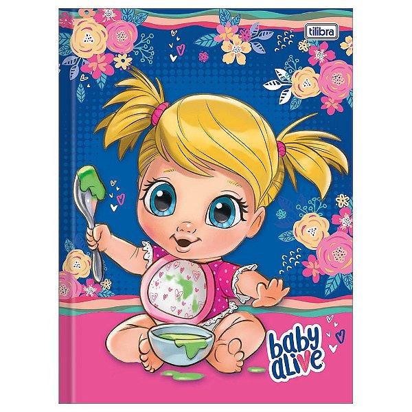 Caderno Brochura Baby Alive Papinha - Tilibra