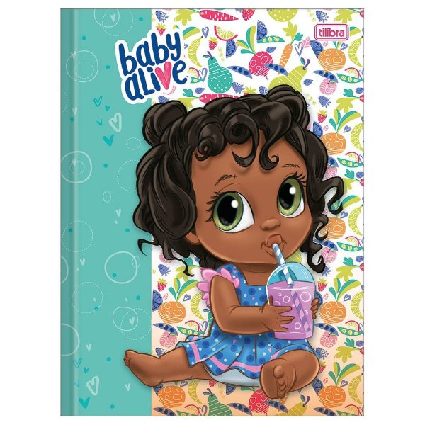 Caderno Brochura Baby Alive Refresco - Tilibra
