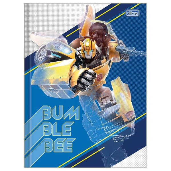 Caderno Brochura Transformers - Bumblebee - 80 Folhas - Tilibra
