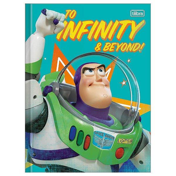 Caderno Brochura Toy Story 4 Buzz Lightyear - 80 Folhas - Tilibra