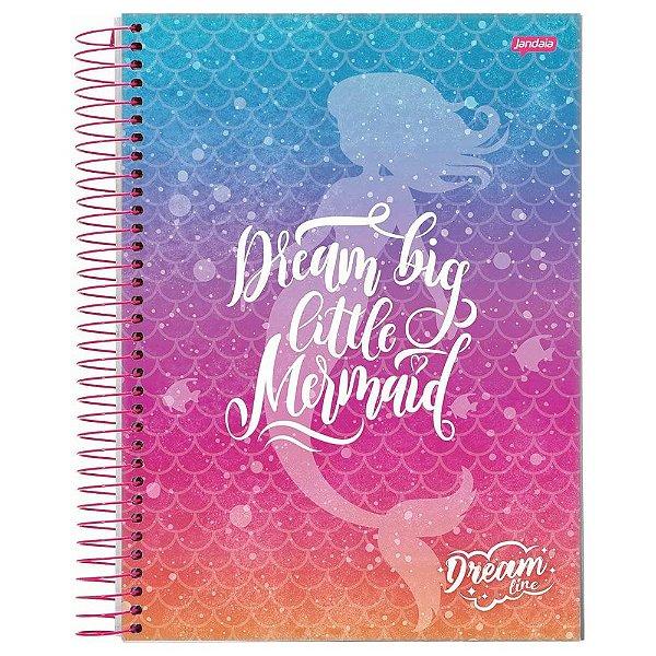 Caderno Dream Line - Dream Big - 96 Folhas - Jandaia