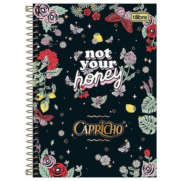 Caderno Capricho - Not Your Honey - 80 folhas - Tilibra