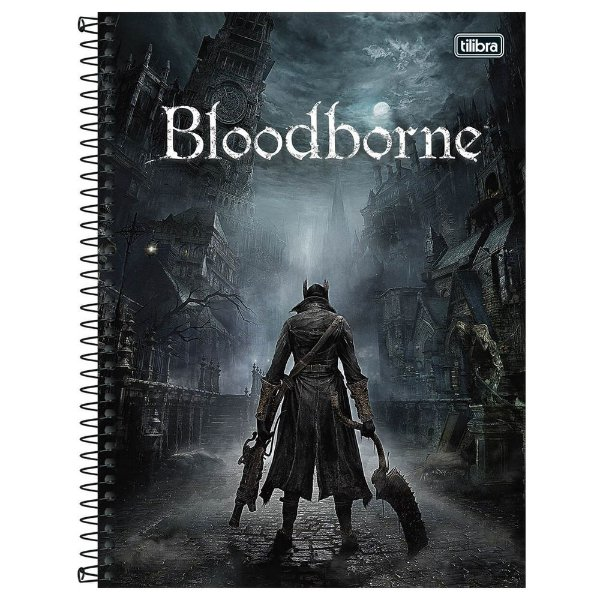 Caderno Bloodborne - O Caçador - 80 Folhas - Tilibra