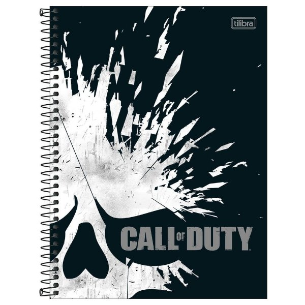 Caderno Call of Duty - Fragmentos - 80 Folhas - Jandaia