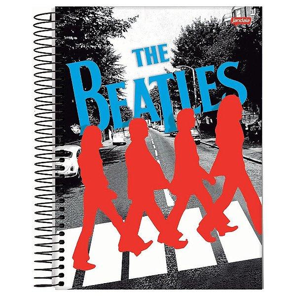 Caderno The Beatles - Abbey Road - 200 Folhas - Jandaia