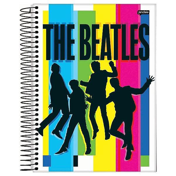 Caderno The Beatles - Colors - 200 Folhas - Jandaia