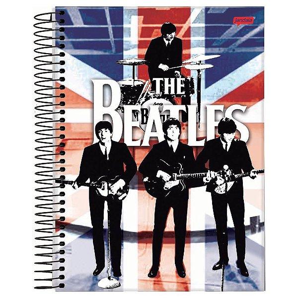 Caderno The Beatles - England - 200 Folhas - Jandaia
