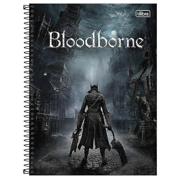 Caderno Bloodborne - O Caçador - 160 Folhas - Tilibra