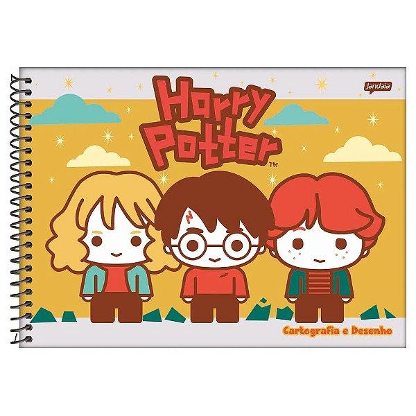 Caderno Cartografia e Desenho Harry Potter - Friends - Jandaia