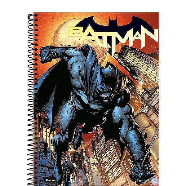 Caderno Batman 80 Years - Ataque - 96 Folhas - Foroni