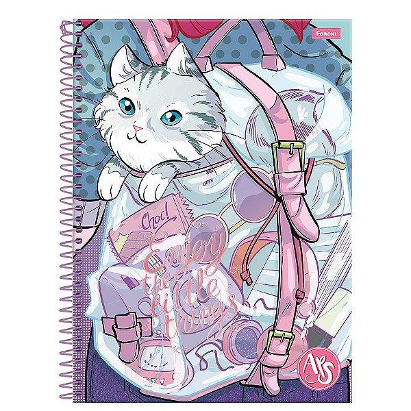 Caderno Amigas Teen - Enjoy - 96 folhas - Foroni